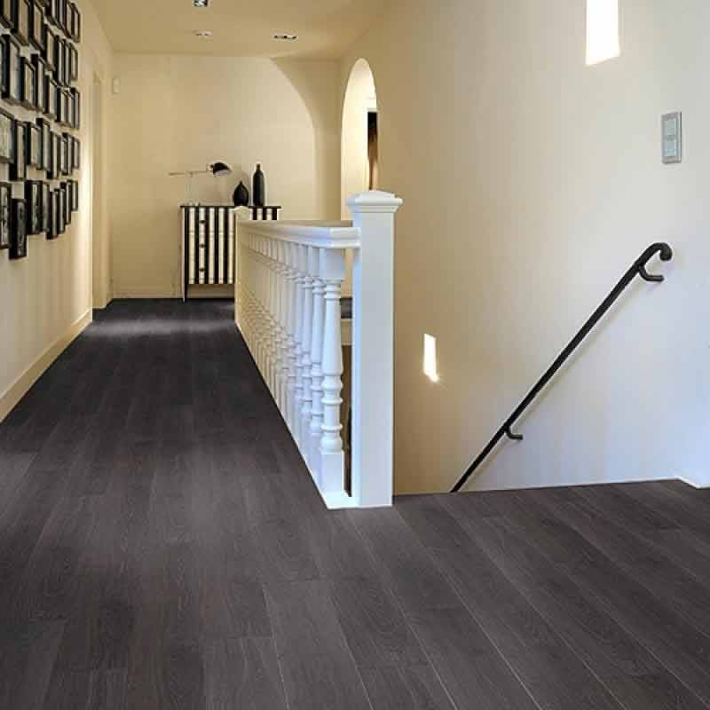 Aquastep Waterproof Laminate Flooring Antracite VGroove  Factory Direct Flooring