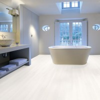 Aquastep Waterproof Laminate Flooring Ultra White V