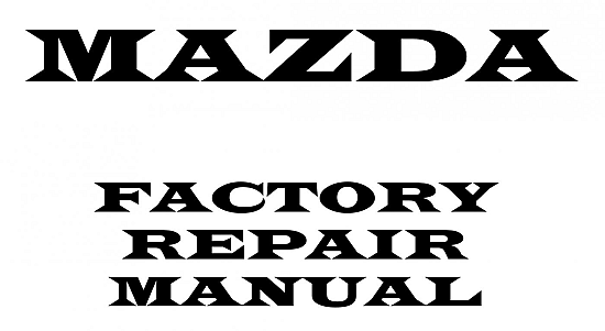 Workshop Manual Mazda 626 1999