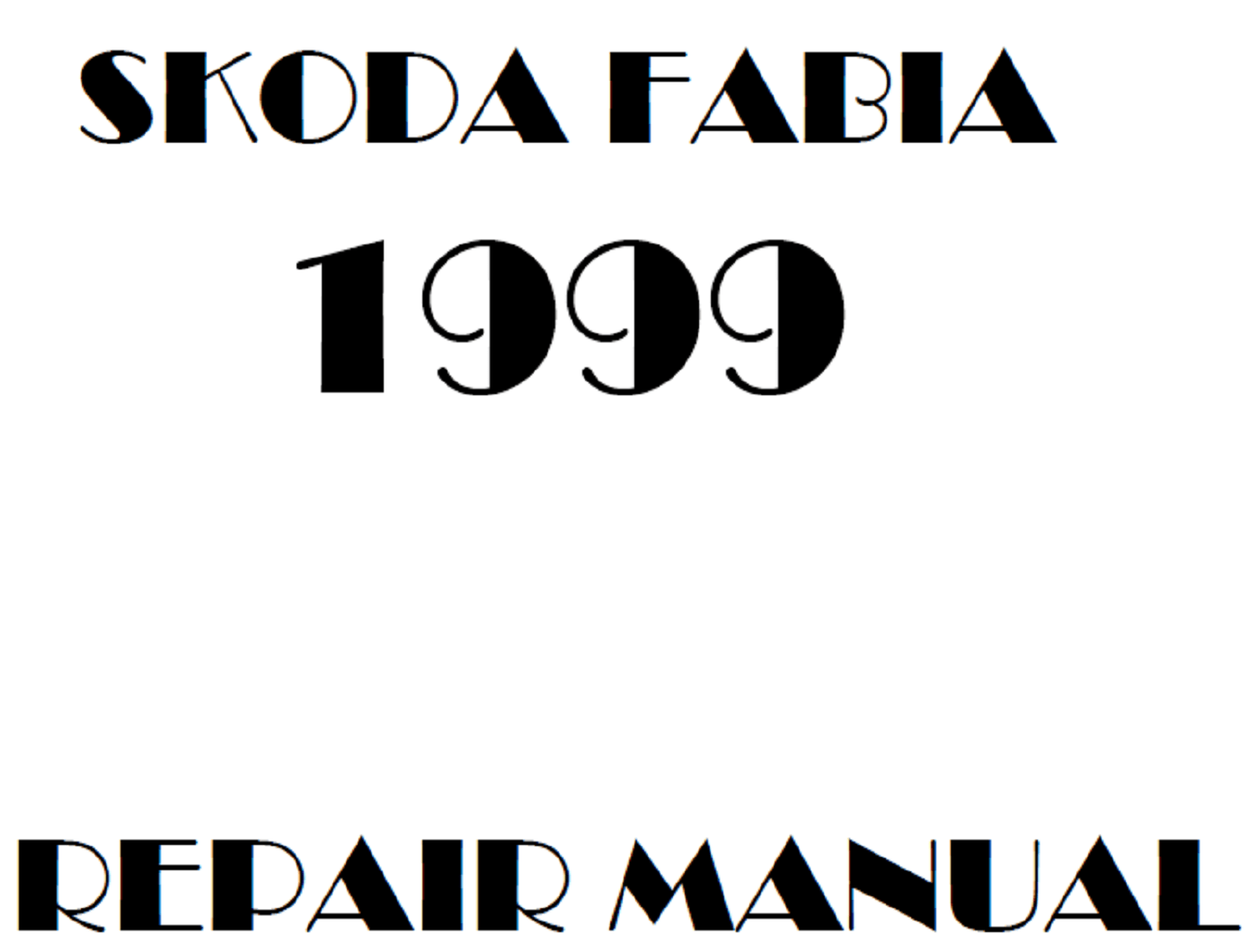 1999 Skoda Fabia repair manual