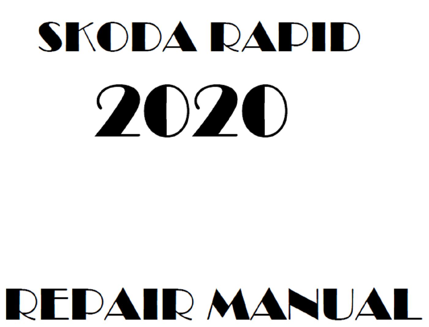 2020 Skoda Rapid repair manual
