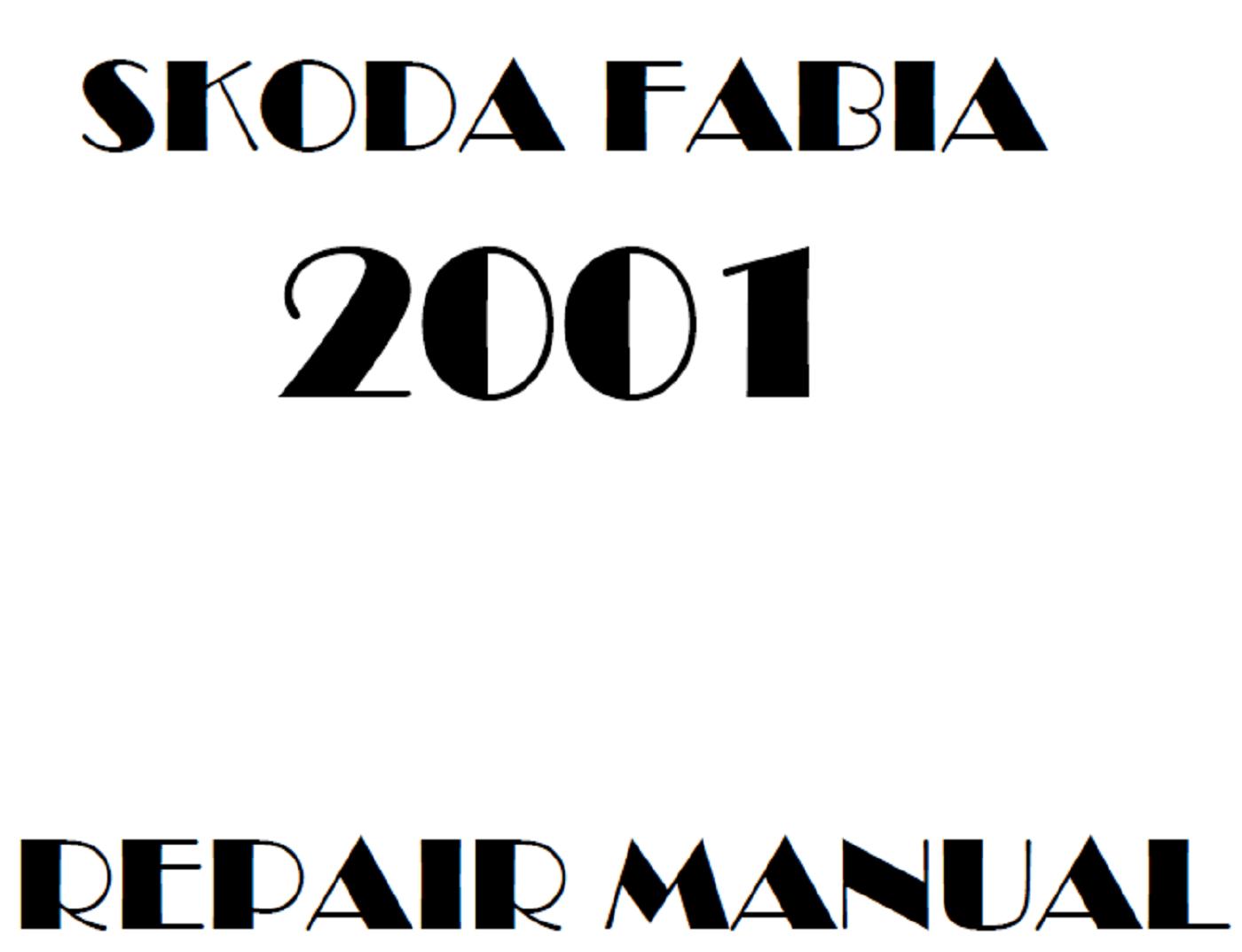 2001 Skoda Fabia repair manual