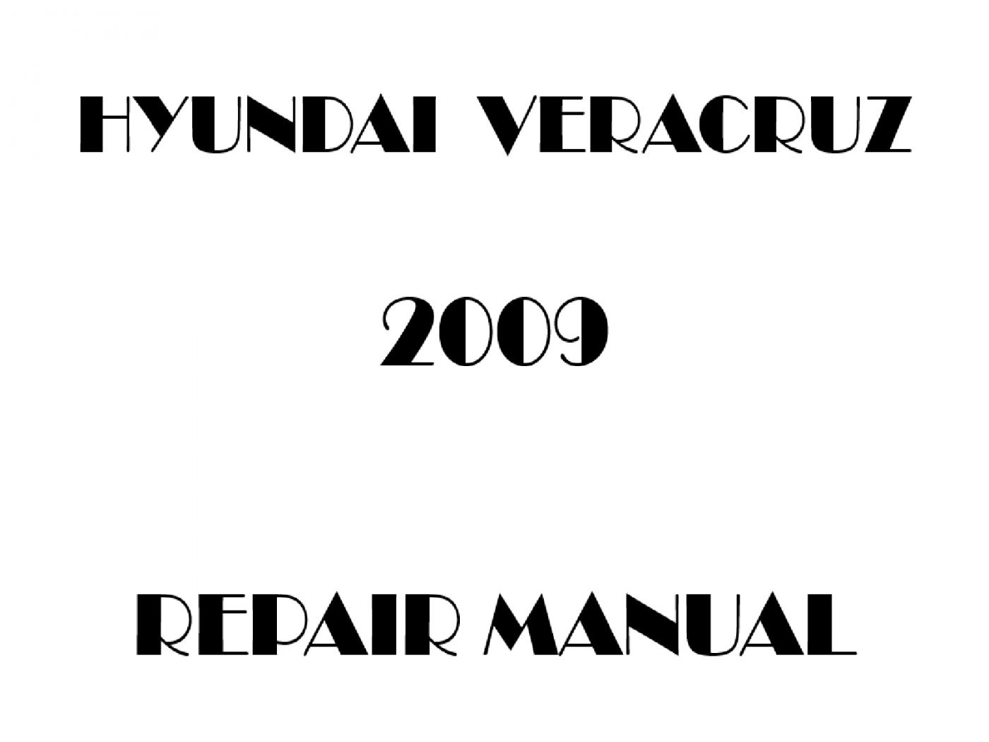2009 Hyundai Veracruz repair manual