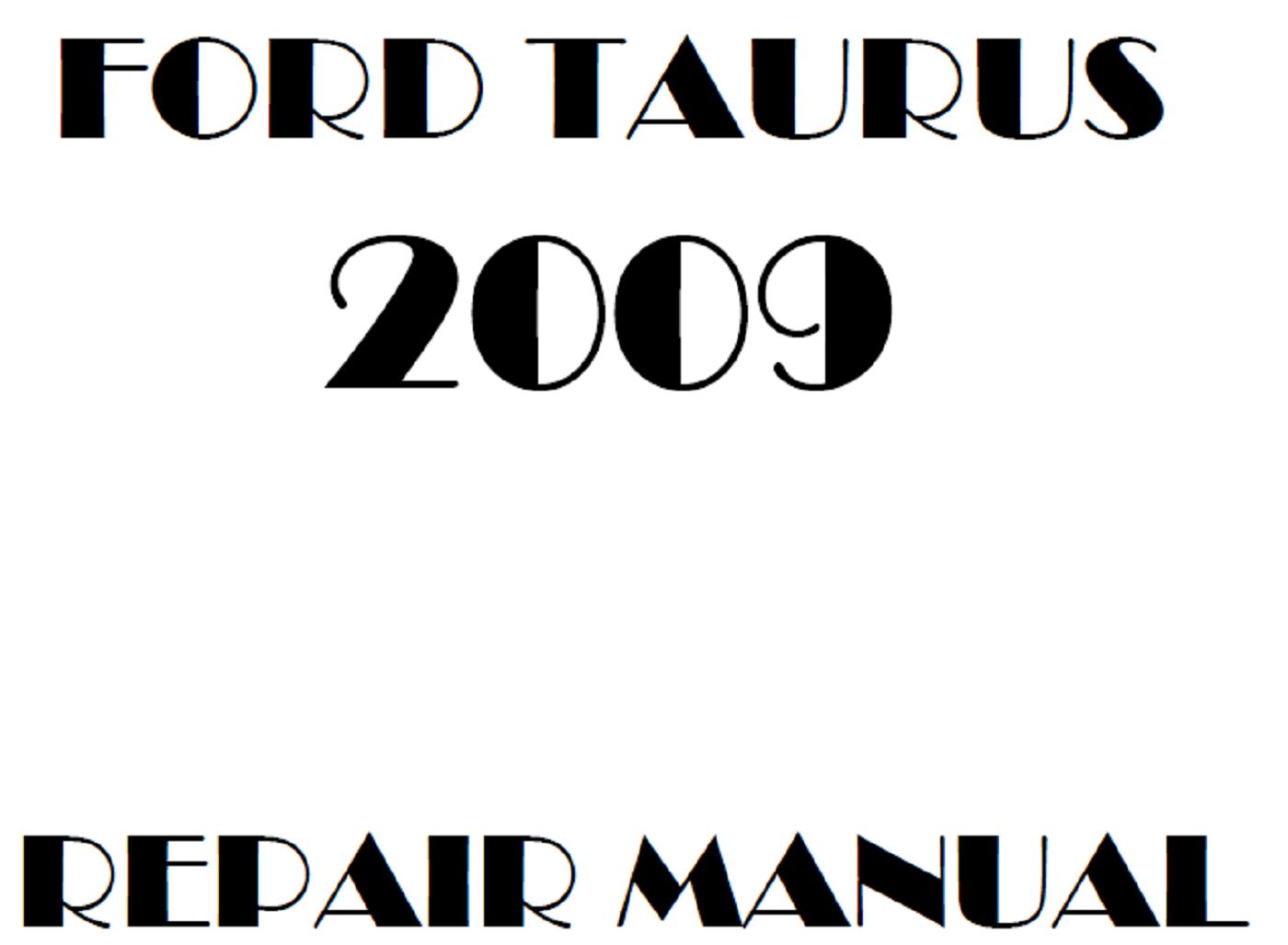 2009 Ford Taurus repair manual