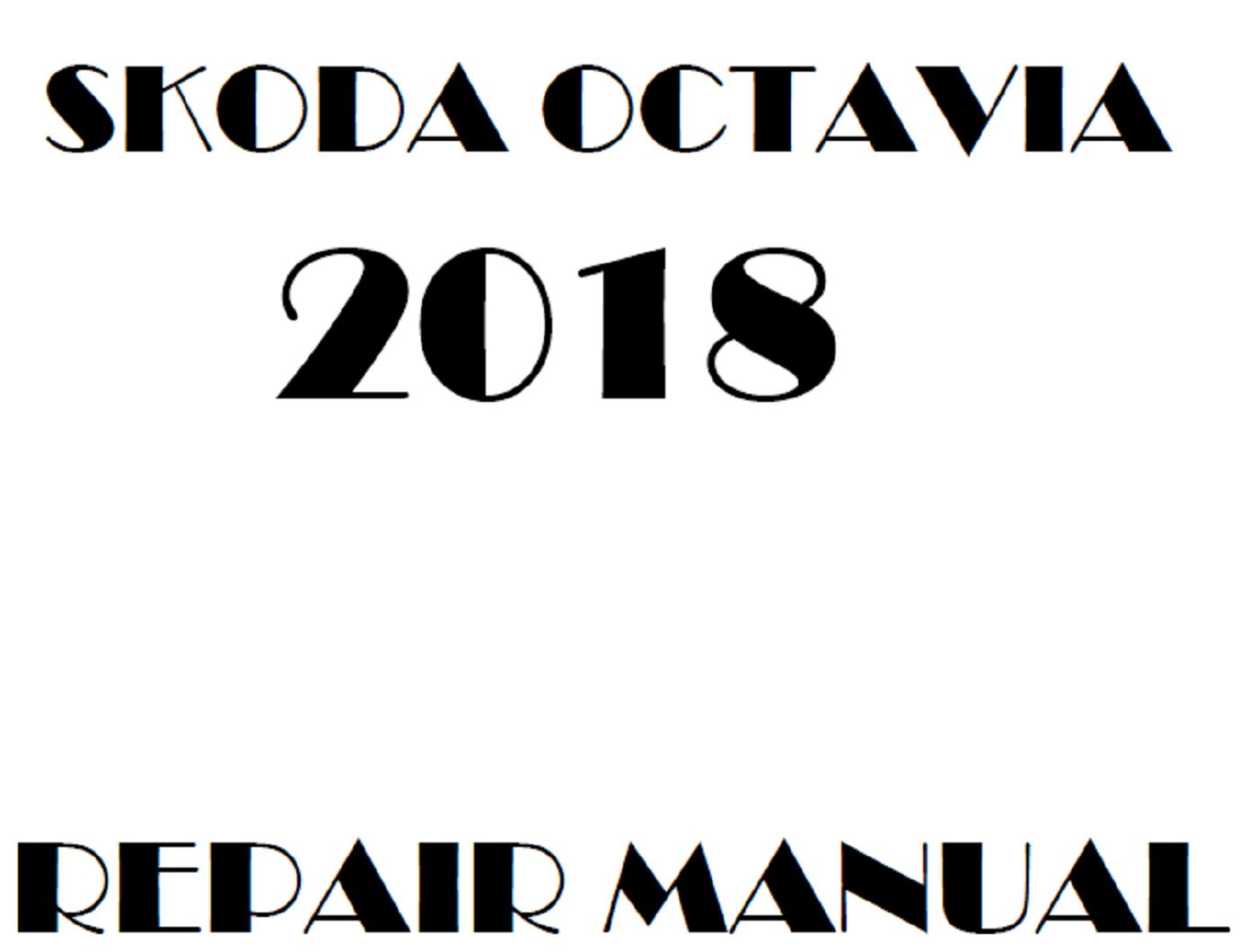 2018 Skoda Octavia repair manual