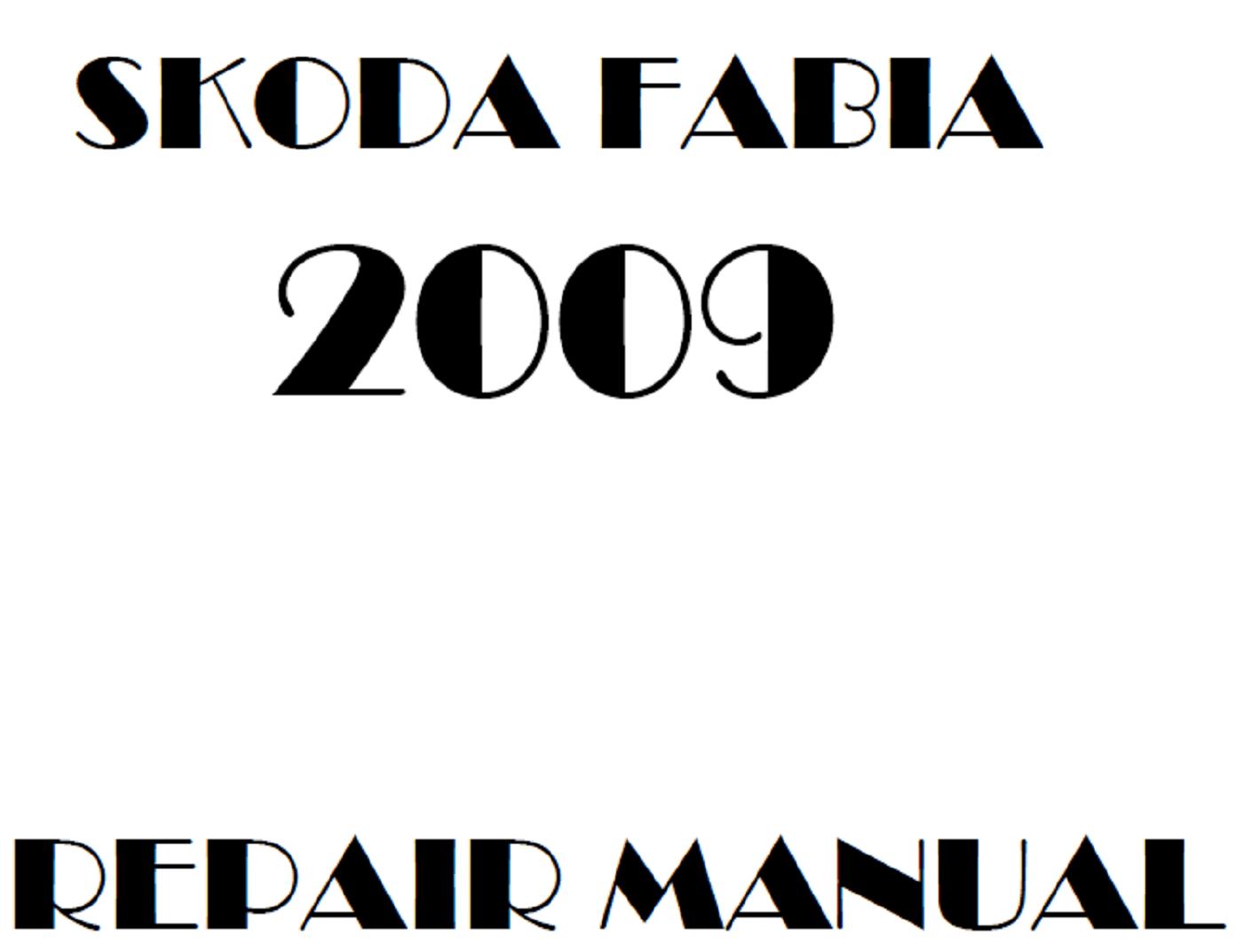 2009 Skoda Fabia repair manual