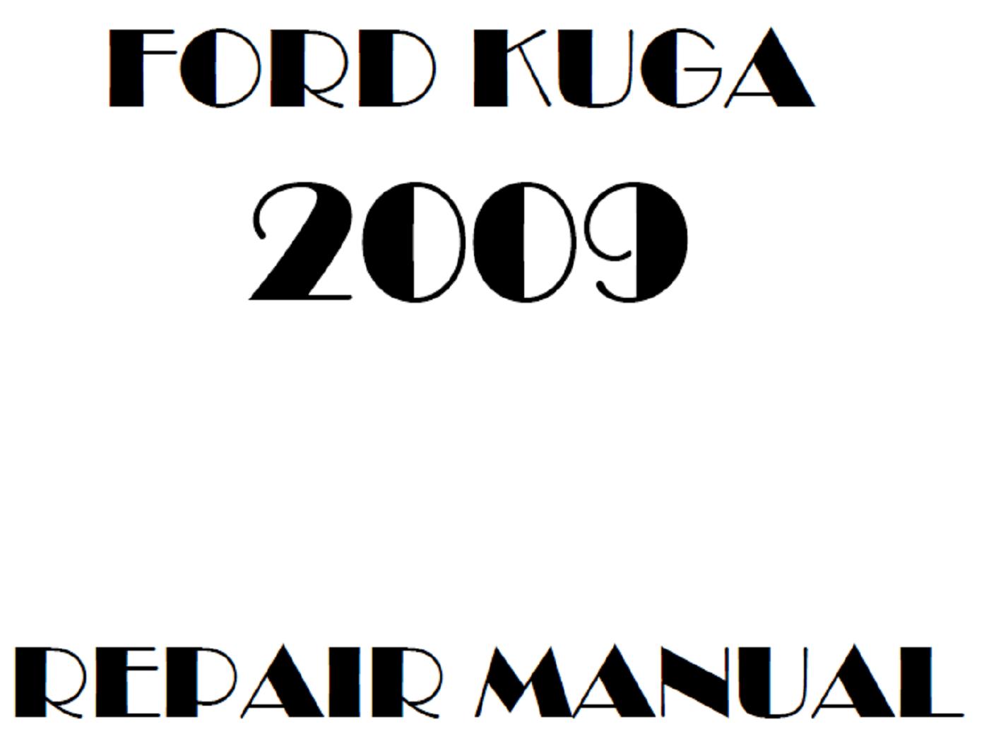2009 Ford Kuga repair manual