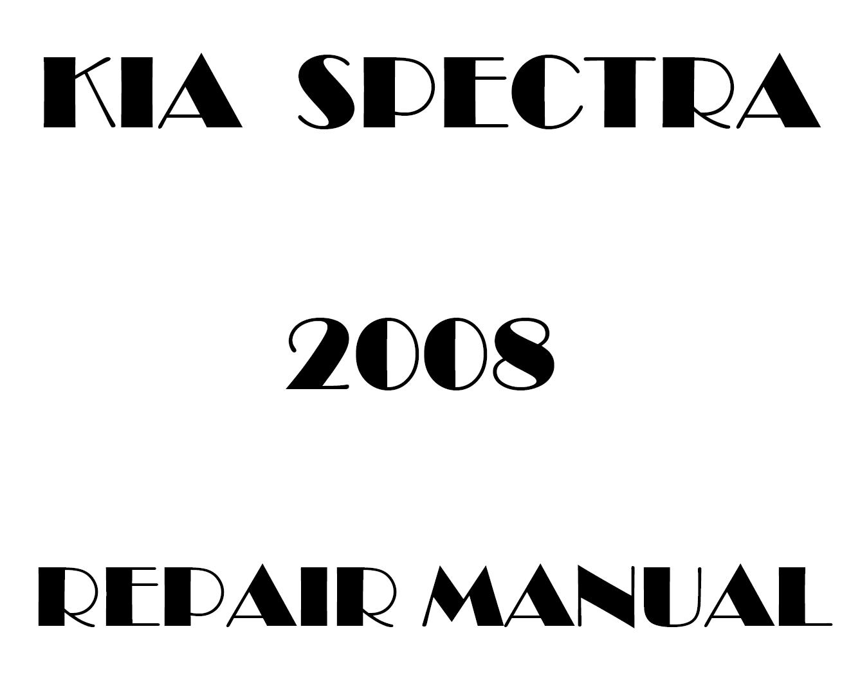 2008 Kia Spectra repair manual