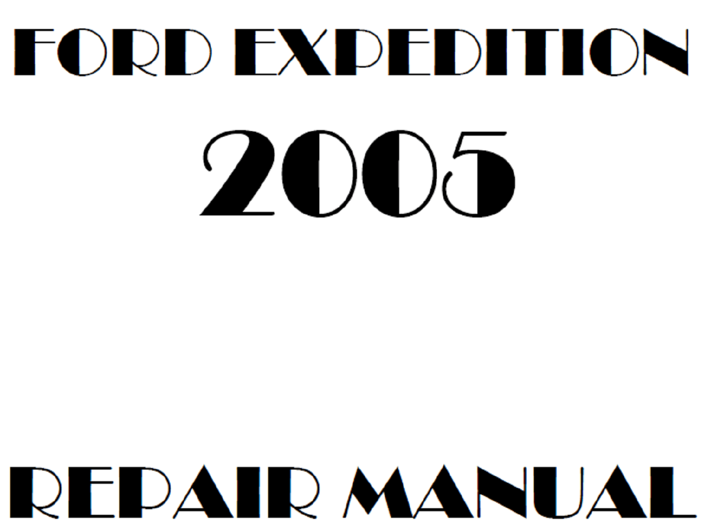 2005 Ford Expedition repair manual