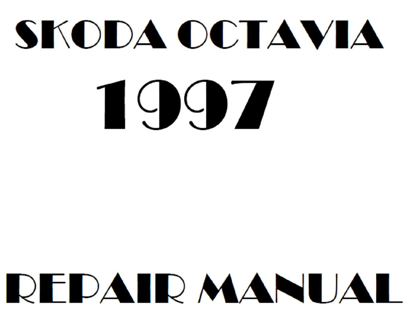 1997 Skoda Octavia repair manual