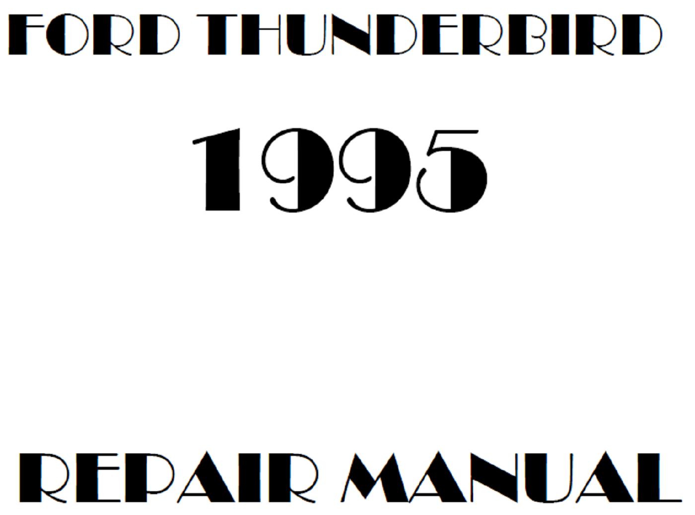 1995 Ford Thunderbird repair manual