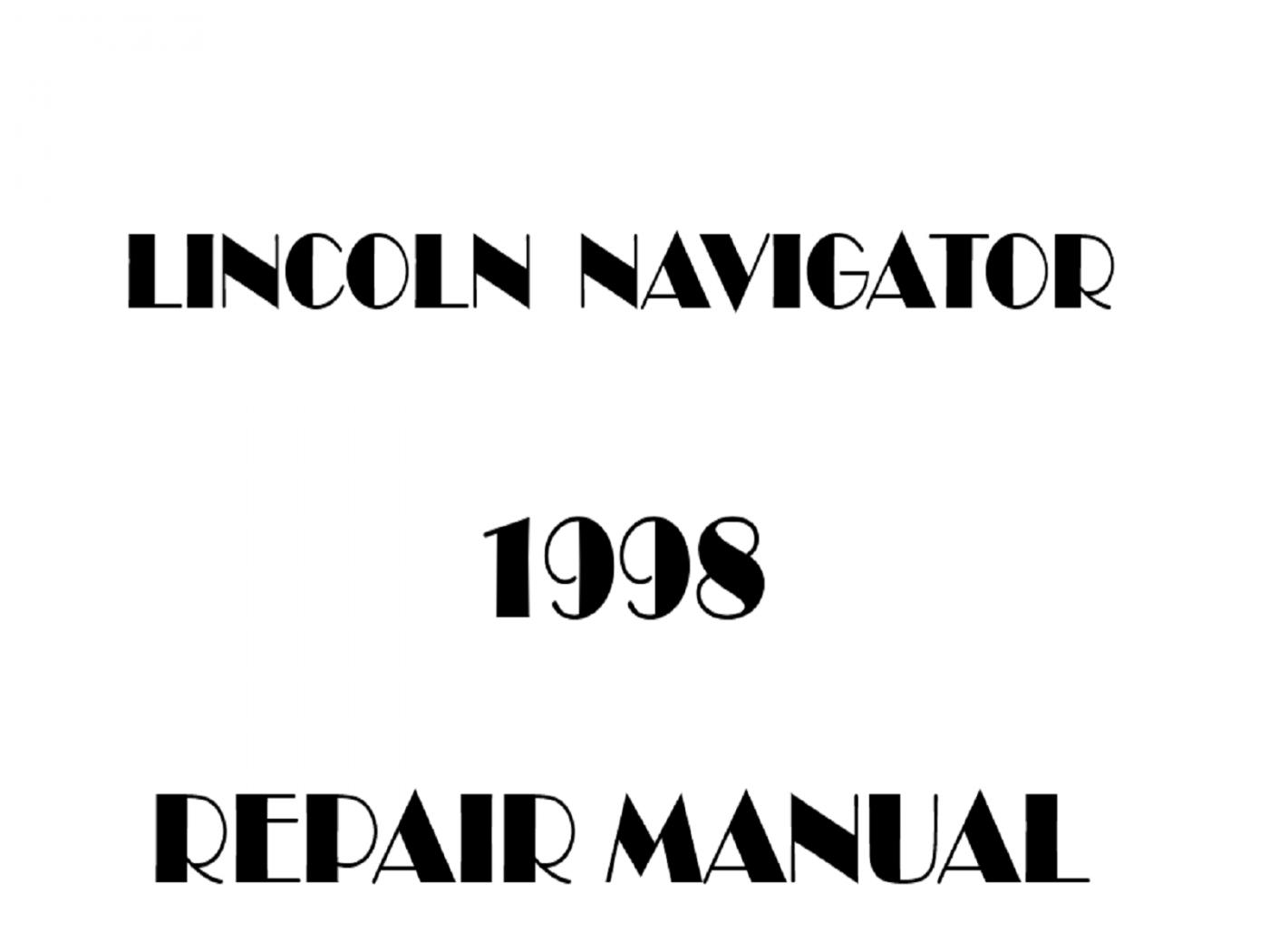 1998 Lincoln Navigator repair manual