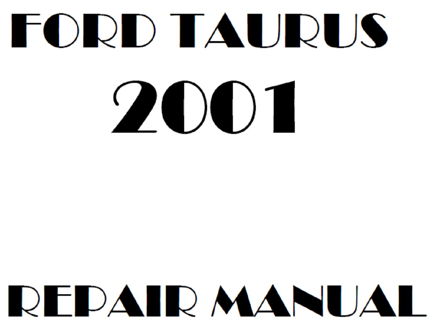 2001 Ford Taurus repair manual