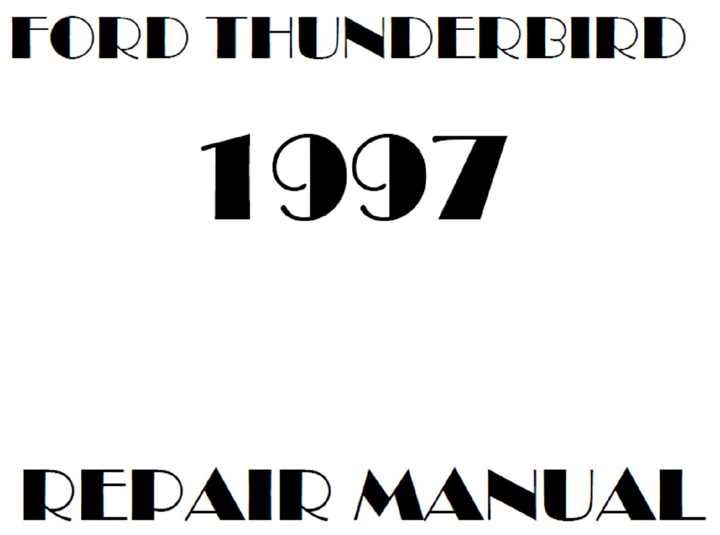 1997 Ford Thunderbird repair manual