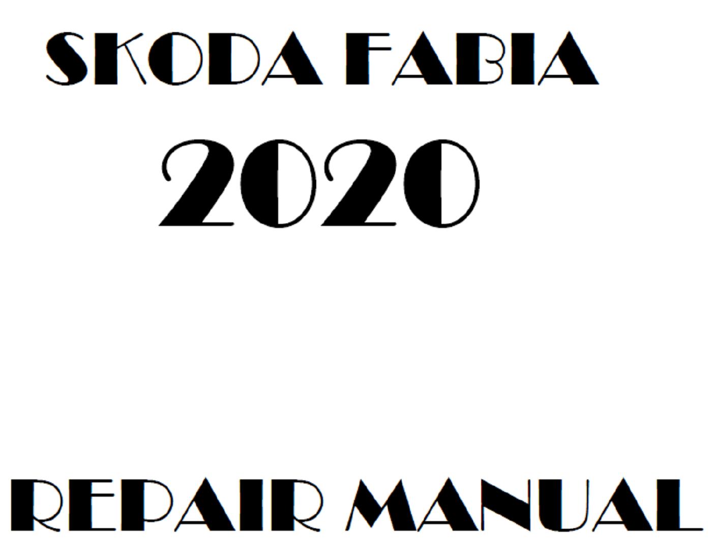 2020 Skoda Fabia repair manual