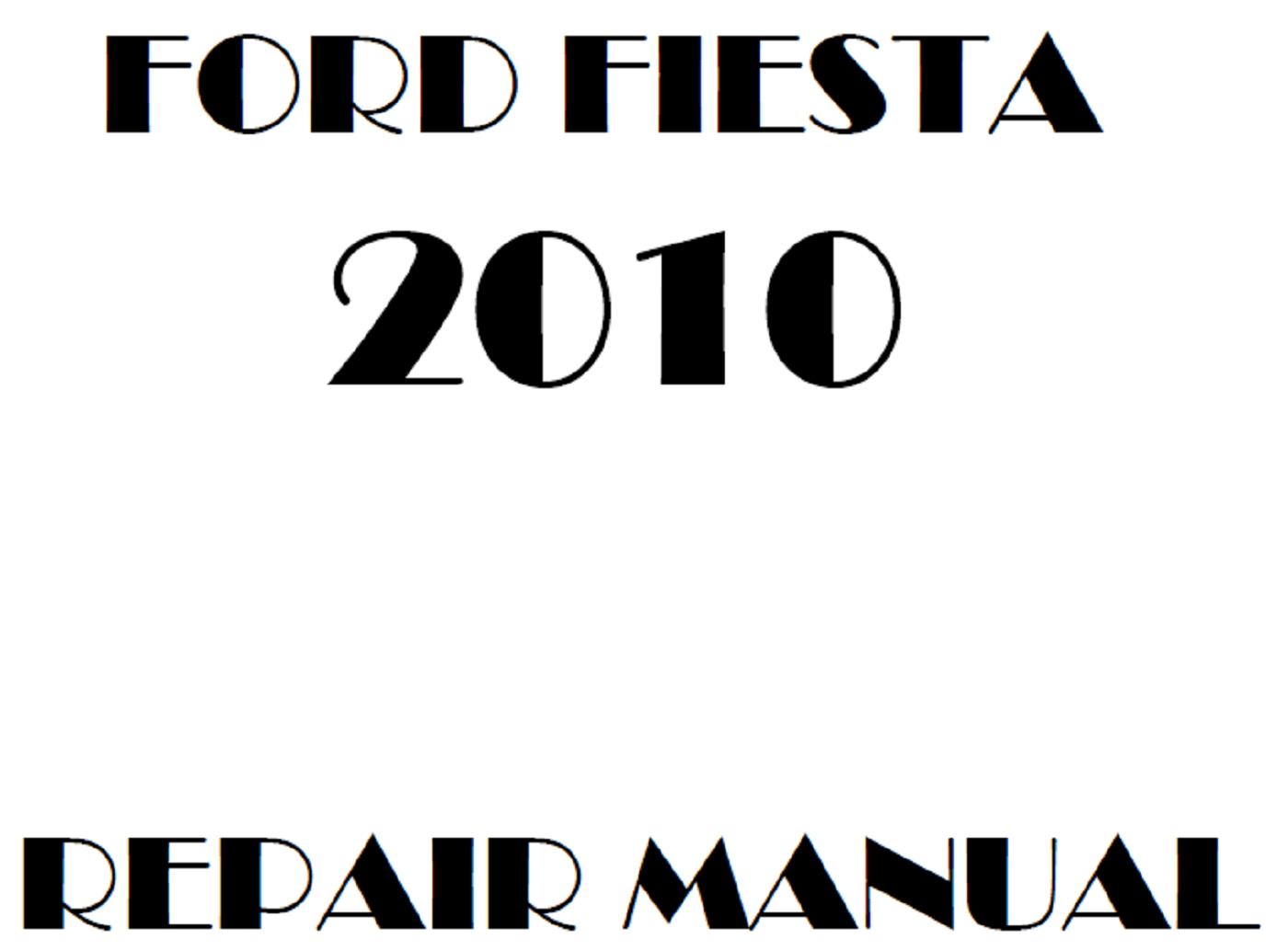 2010 Ford Fiesta repair manual