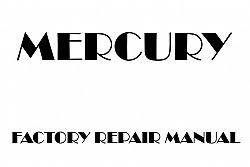 2000 Mercury Cougar repair manual