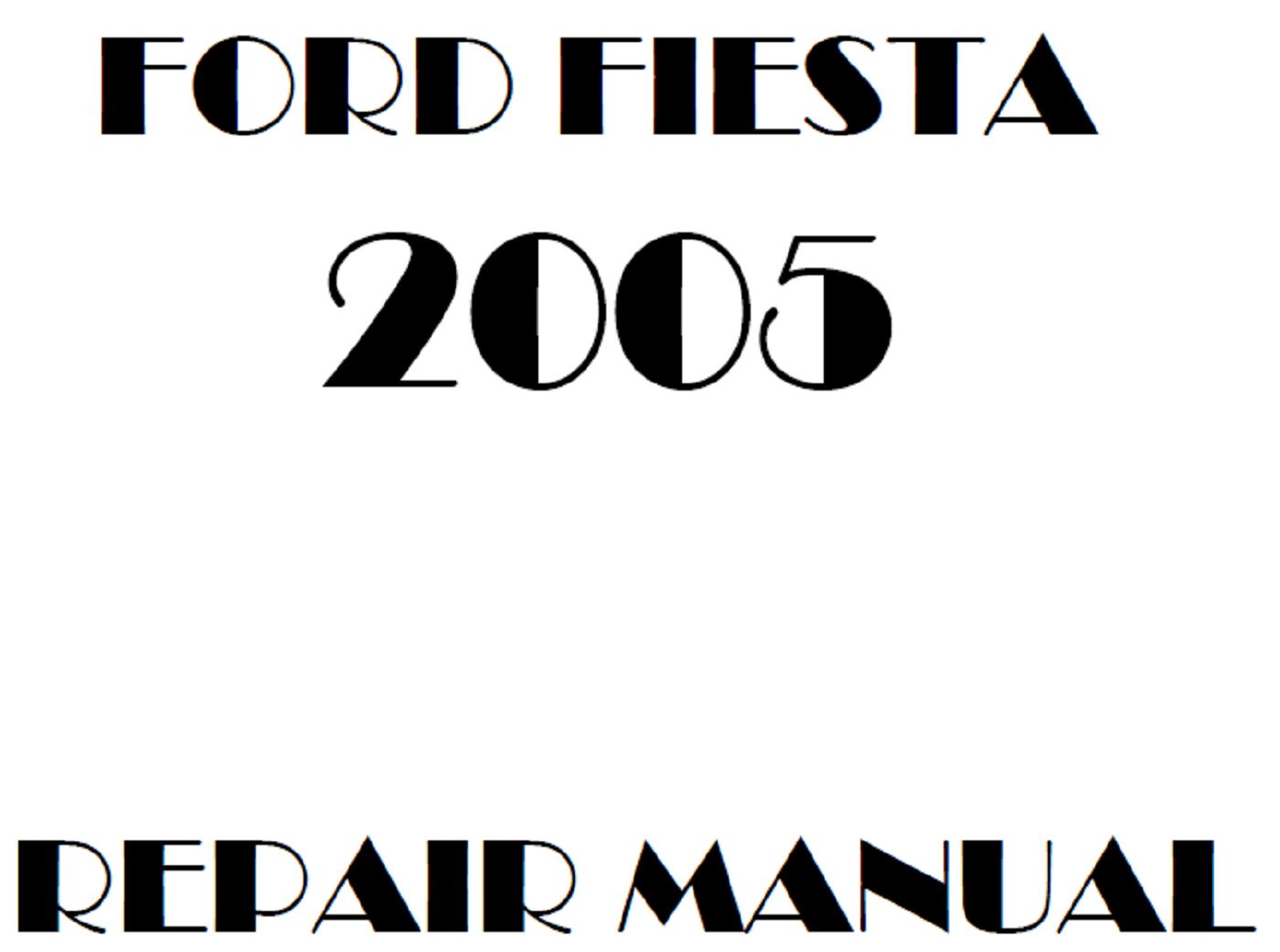 2005 Ford Fiesta repair manual