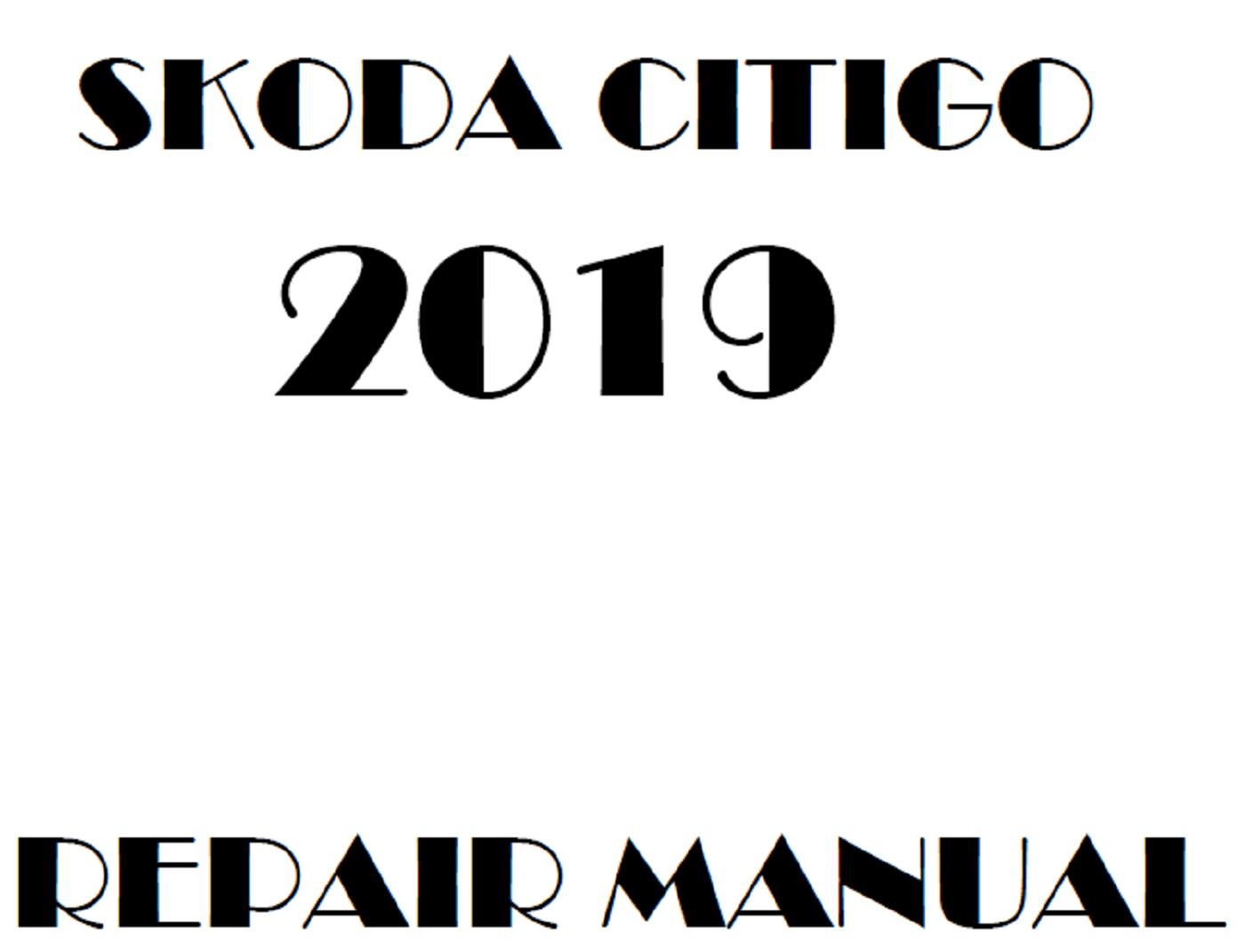 2019 Skoda Citigo repair manual