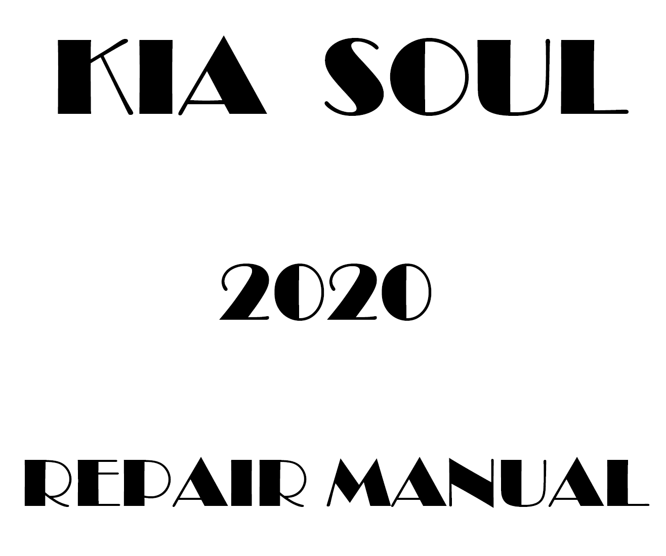 2020 Kia Soul repair manual