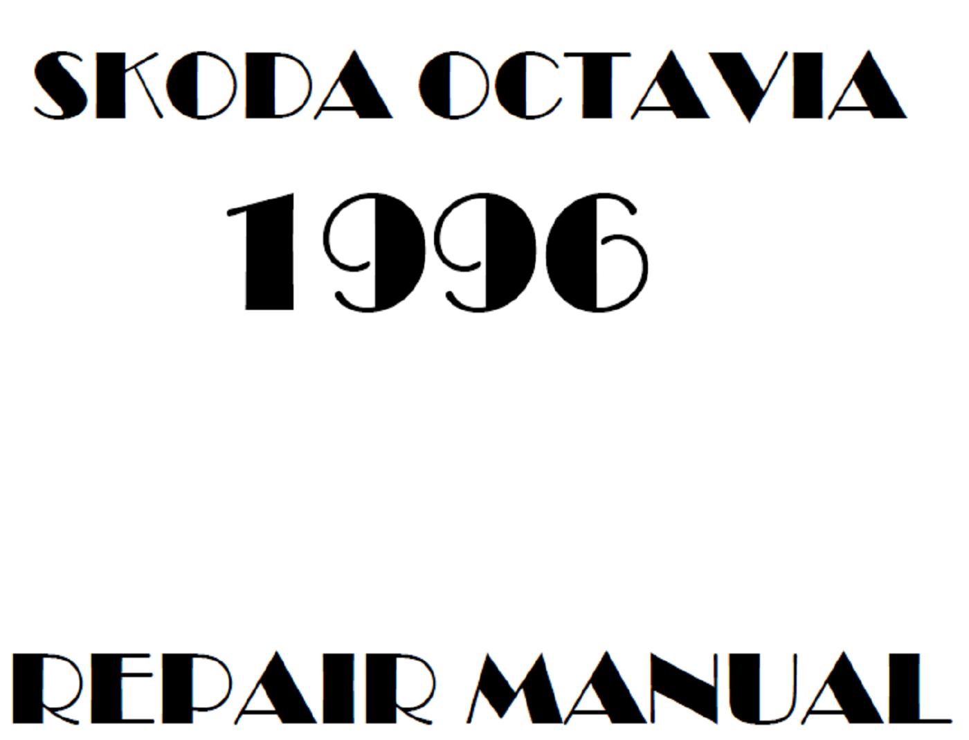 1996 Skoda Octavia repair manual