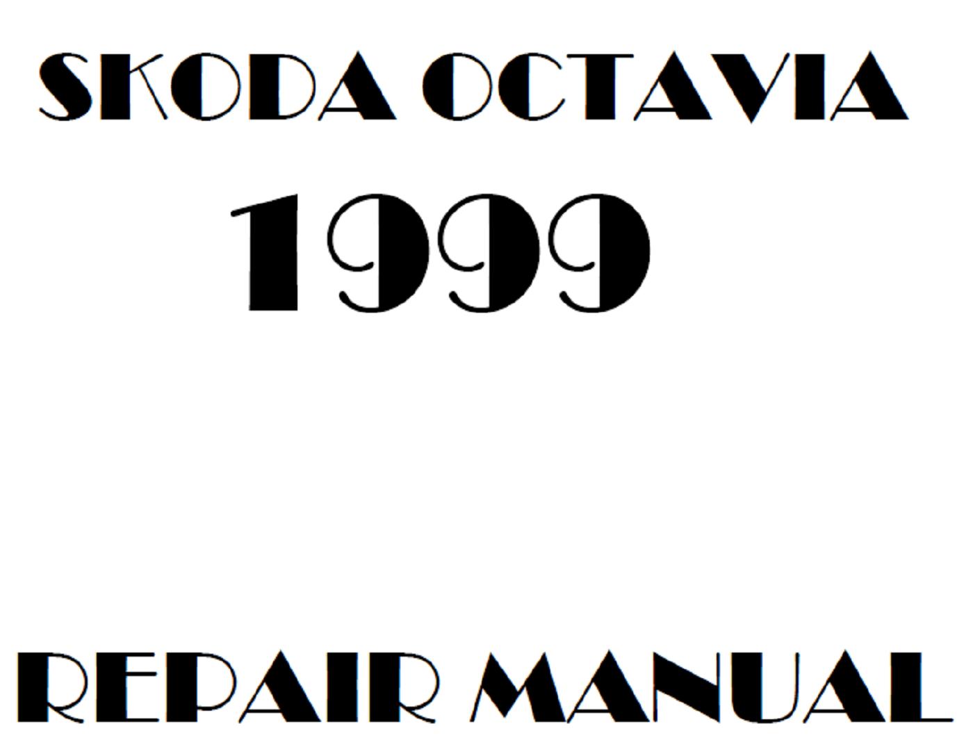 1999 Skoda Octavia repair manual