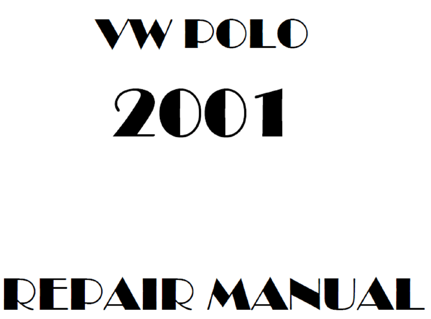 2001 Volkswagen Polo repair manual