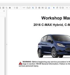 ford c max 2013 2014 2015 2016 2017 2018 repair manual [ 1747 x 986 Pixel ]