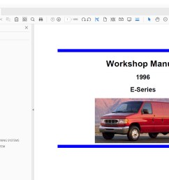 service manual 1996 ford econoline e350 pannel manual cup if searched ebook box form thatcase come right site 1995 ford econoline van wagon e150 e250  [ 1544 x 957 Pixel ]