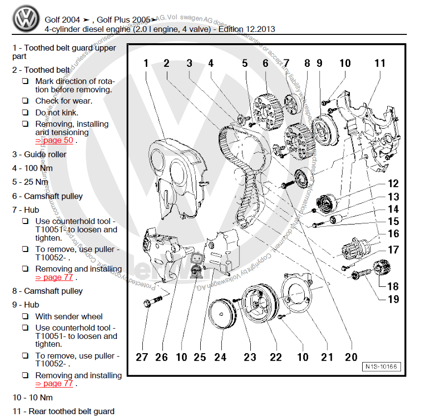Service manual [Free Car Repair Manuals 2005 Volkswagen