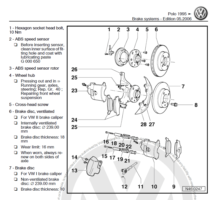 vw polo 6n wiring diagram visio process flow template volkswagen 1995-2002 repair manual | factory