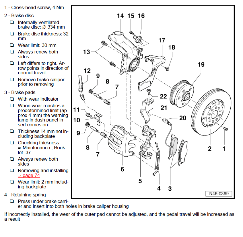 Skoda Octavia 2 II 2004-2013 factory repair manual