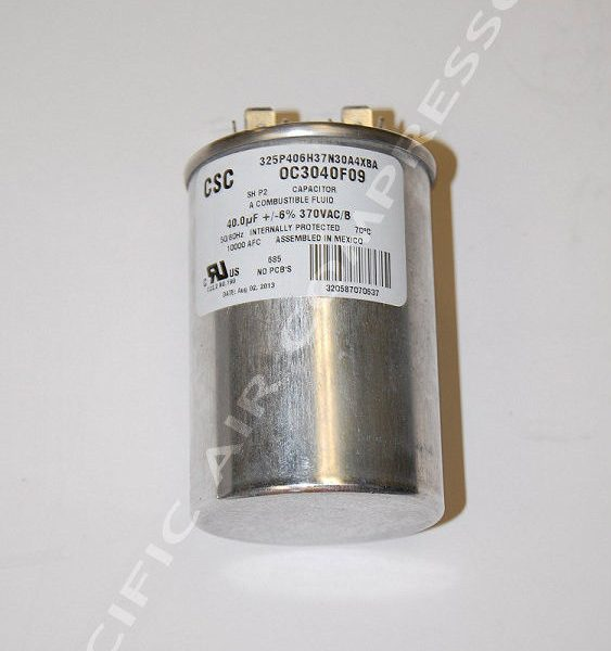 Compressor Motor Other Electric Motor Startboost Or Run Capacitors