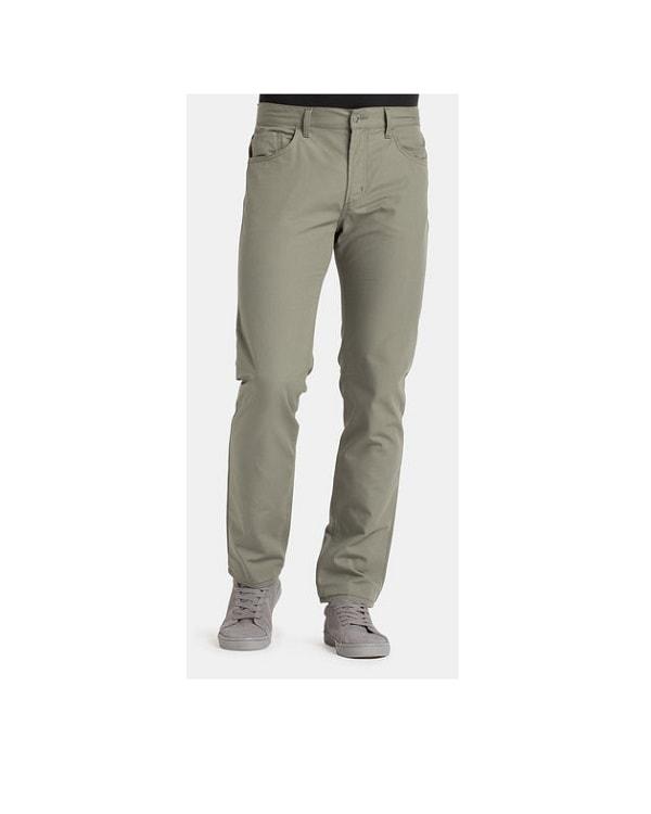 Pantalone Tela da Uomo Carrera 700 Regular Verde