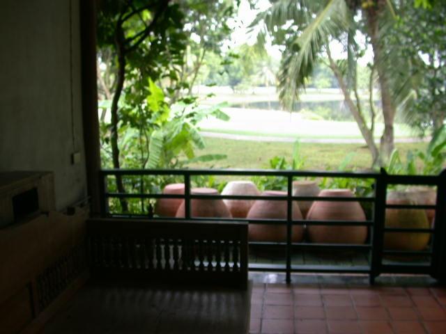 บ้านทรงไทย วิวสนามกอล์ฟ