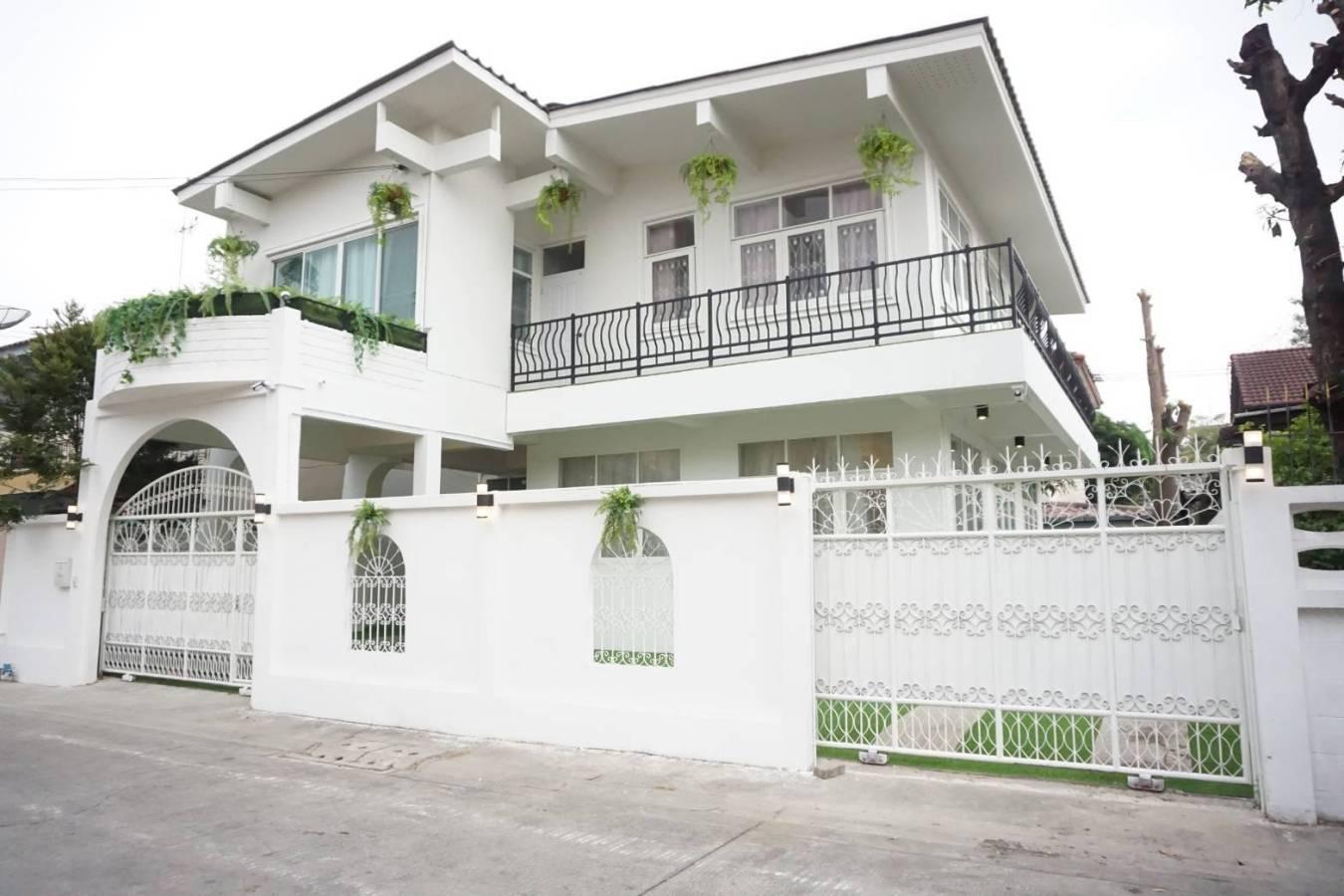 บ้านพร้อมอยู่ ซอยประชาสามัคคี ซอยสามัคคี ท่าทราย นนทบุรี