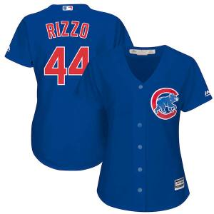 Women's Chicago Cubs Anthony Rizzo Majestic Royal Alternate Cool Base Player Jersey
