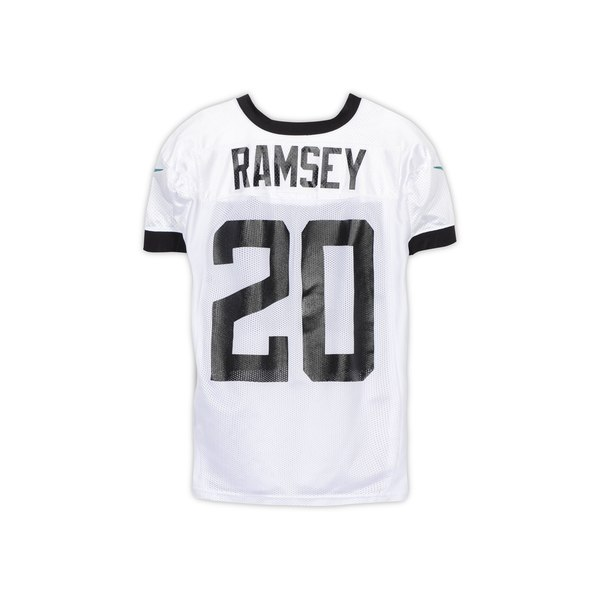 Jacksonville Jaguars Jalen Ramsey Fanatics Authentic Practice Used  hot sale