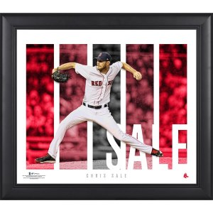 Boston Red Sox Chris Sale Fanatics Authentic Framed 15'' x 17'' Player Panel Collage