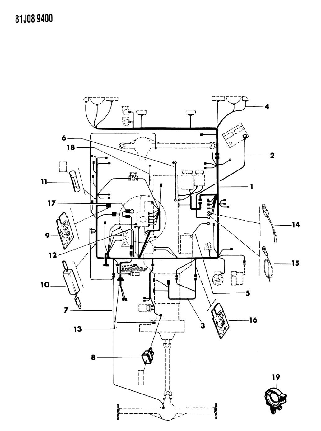 Ford Pin Trailer Wiring Diagram Autocurate Net F Gmc For