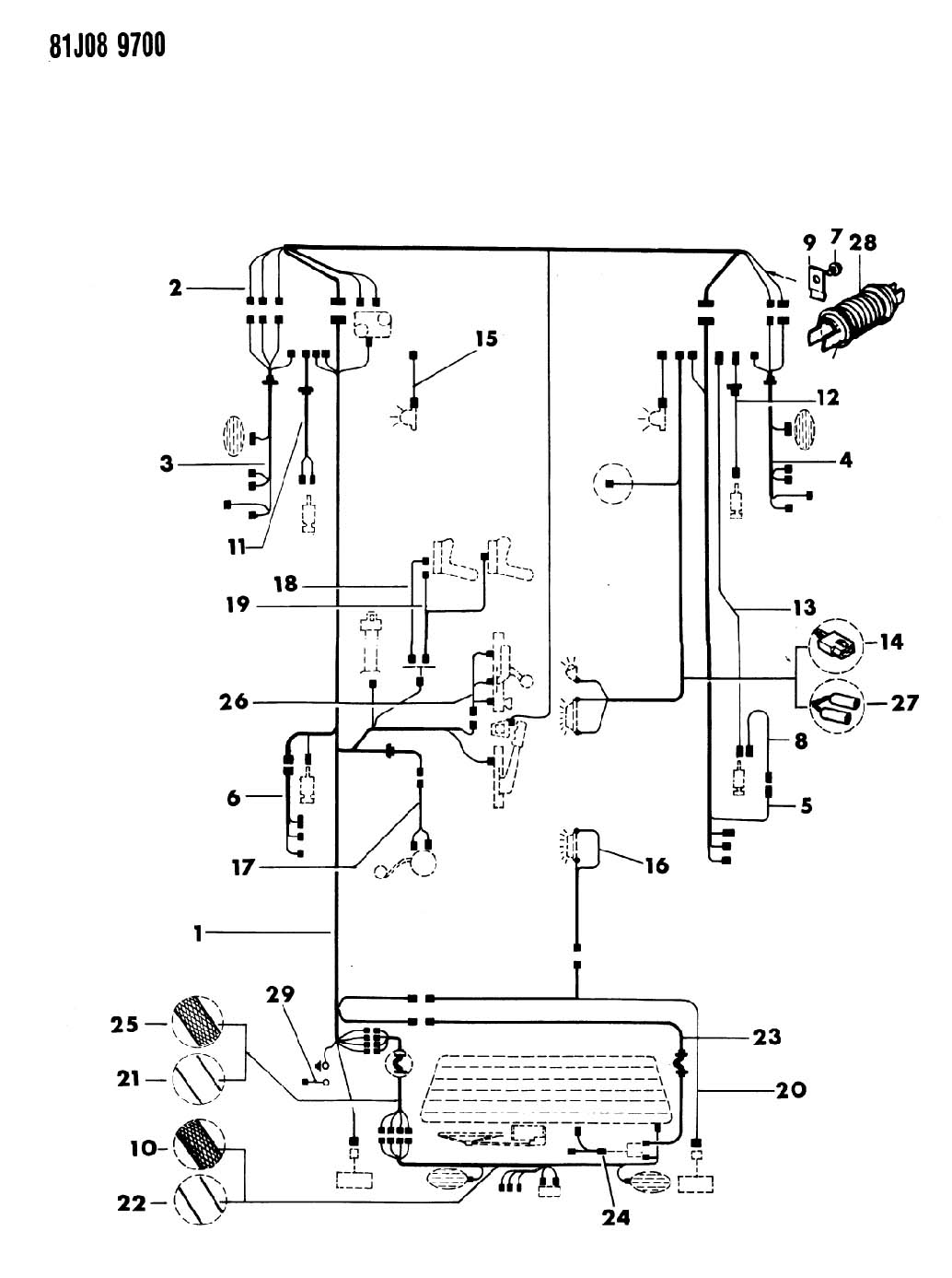 Chrysler Wire Diagram Tow Package. Chrysler. Auto Wiring
