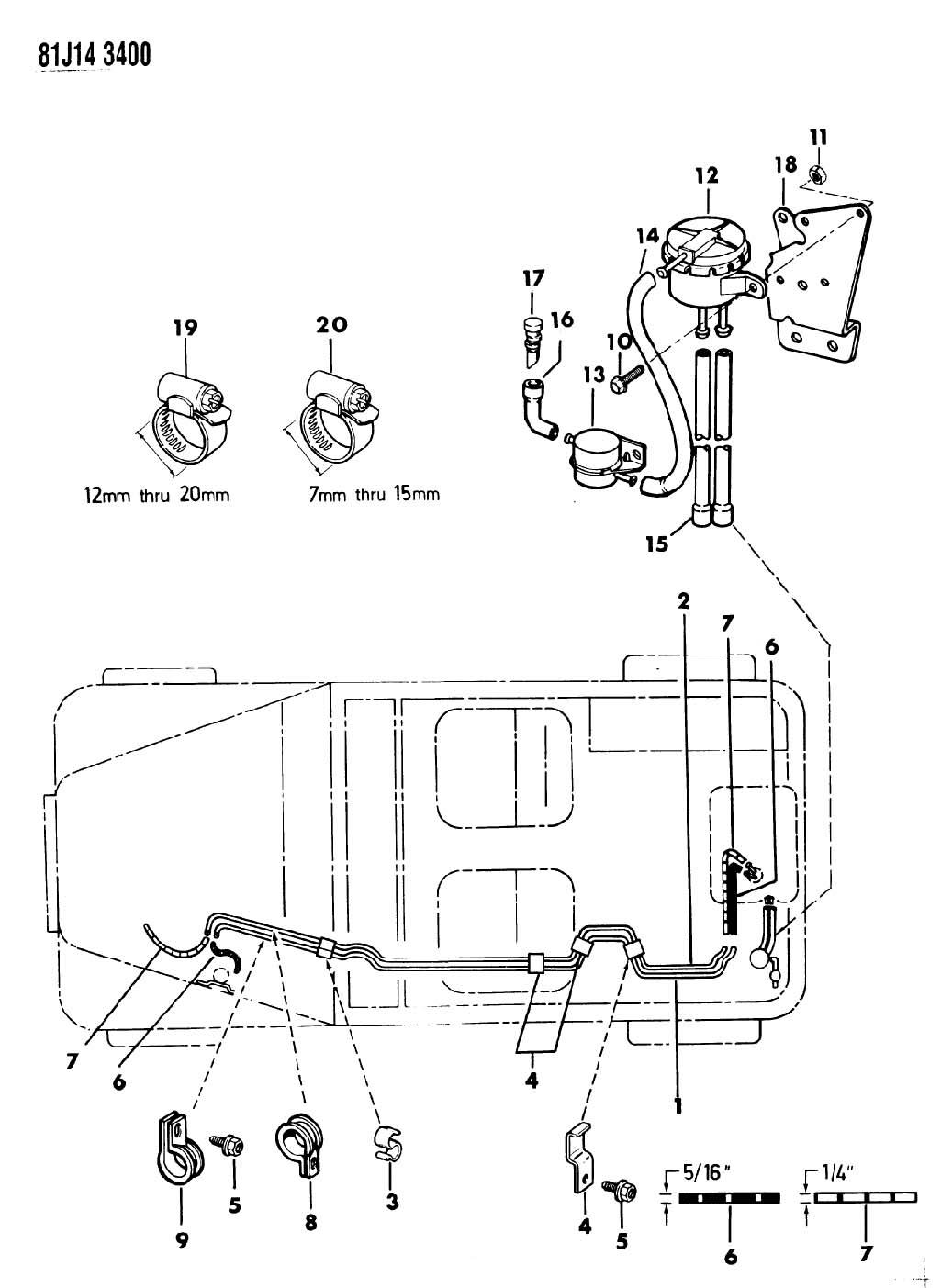 [DIAGRAM] Jeep Cj Fuel Line Diagram FULL Version HD