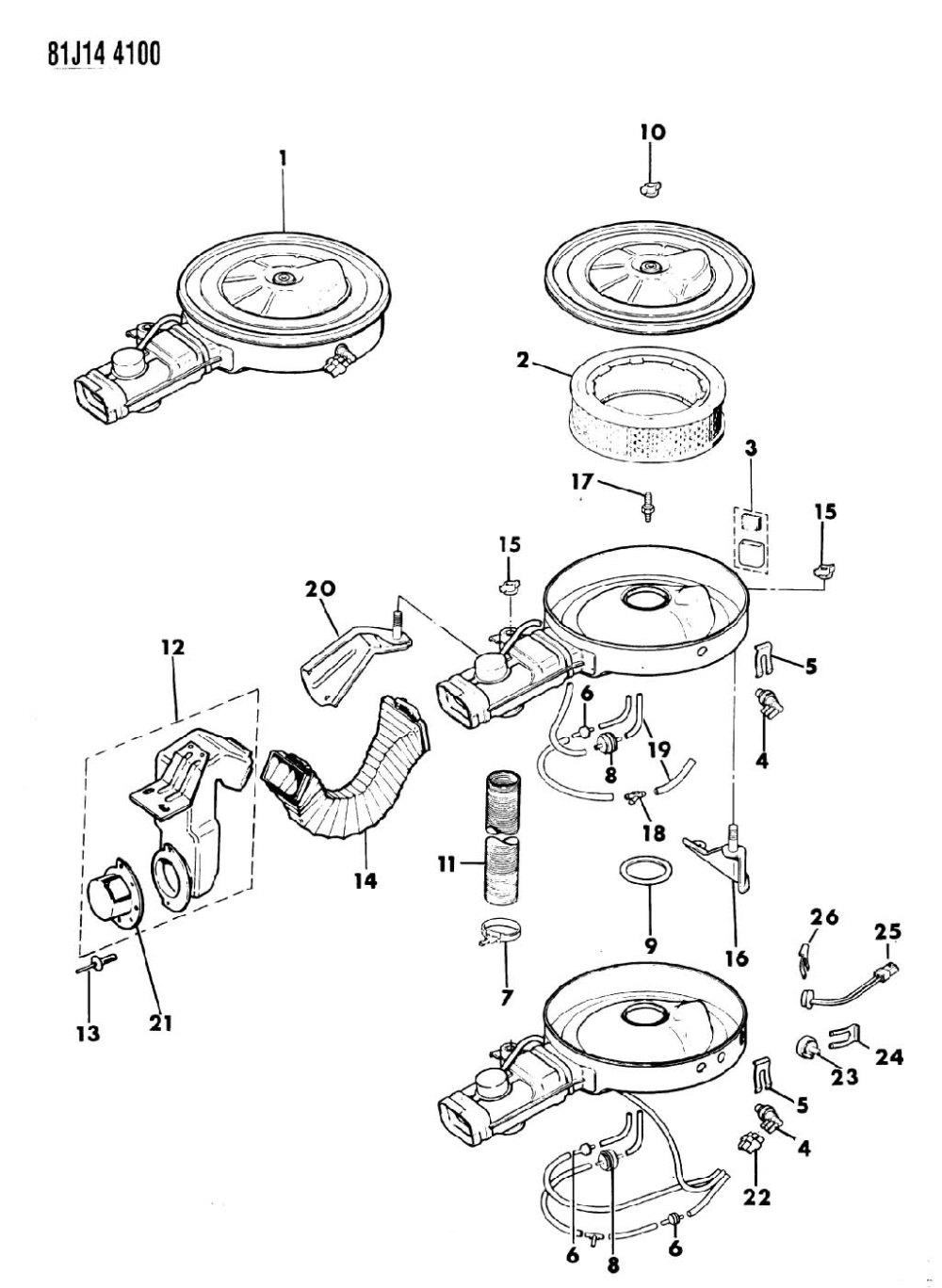 medium resolution of 86 jeep comanche fuel filter 86 get free image about wiring diagram 87 jeep yj vacuum diagram 87 jeep wrangler vacuum line diagram