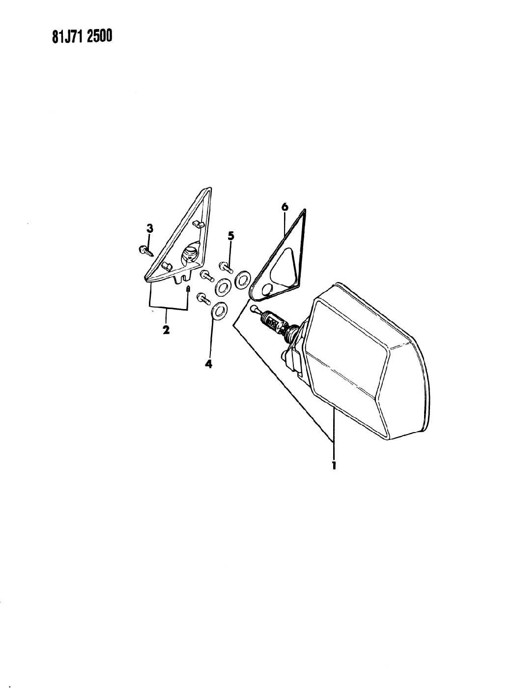 1999 Jeep Cherokee Screw. Pan head torx. M6x1x14