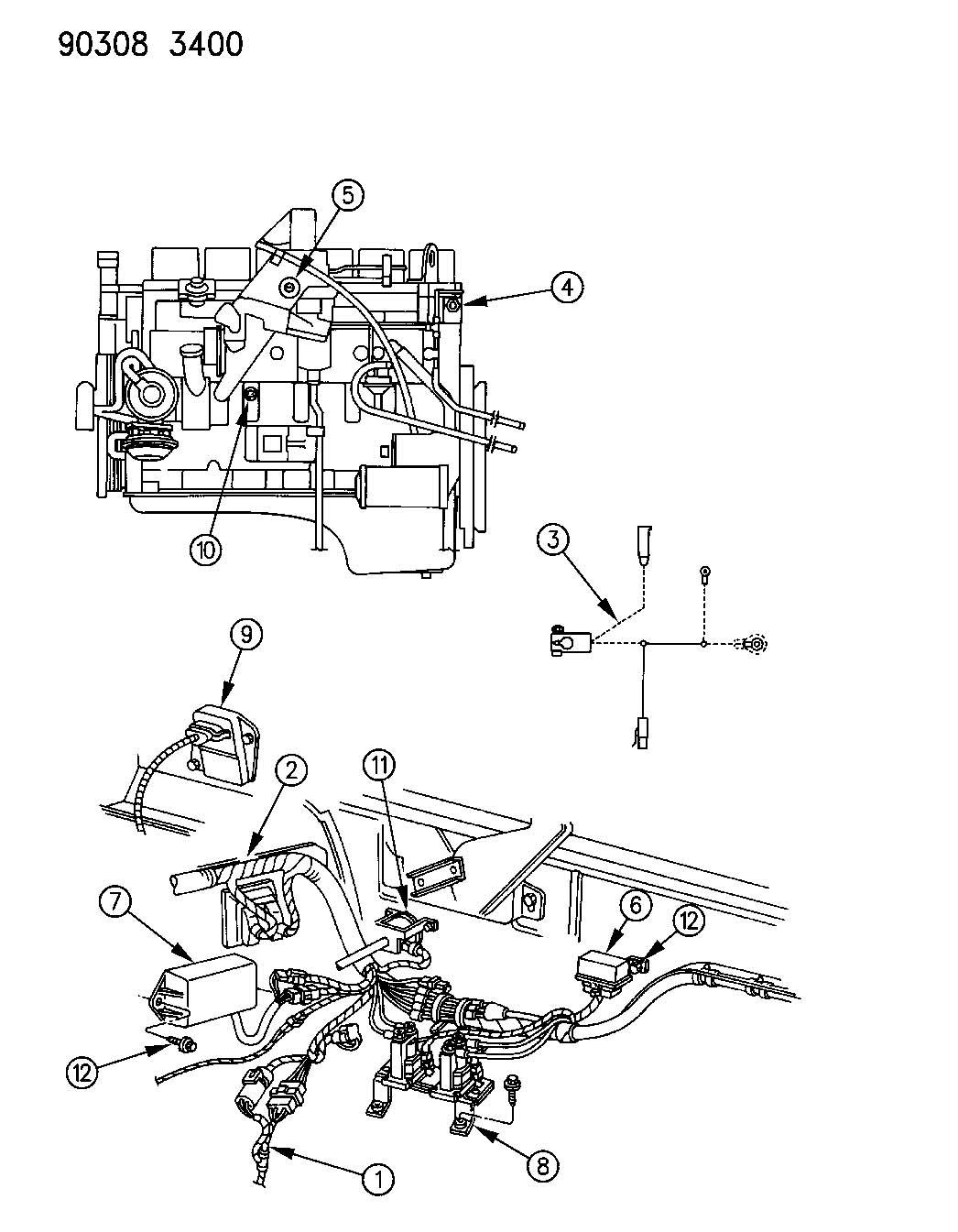 Turbocharged Engine Diagram, Turbocharged, Free Engine