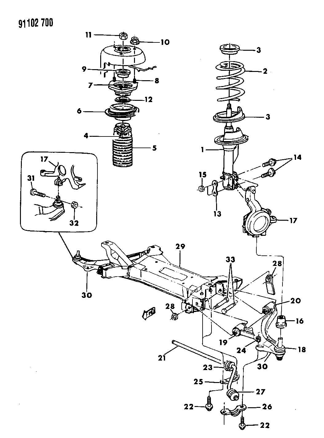 Chrysler C Body Air Suspension