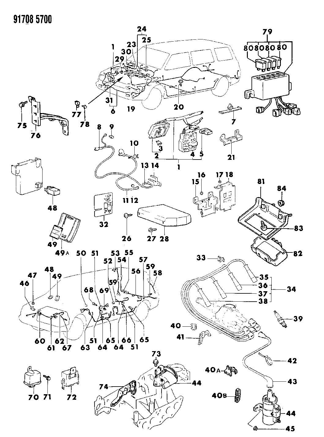 MD104697. W/brkt ignition coil pwr. Transistor, wbrkt