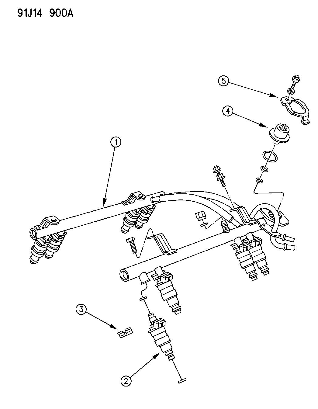 Jeep Wrangler 2 5 Fuel Rail, Jeep, Free Engine Image For