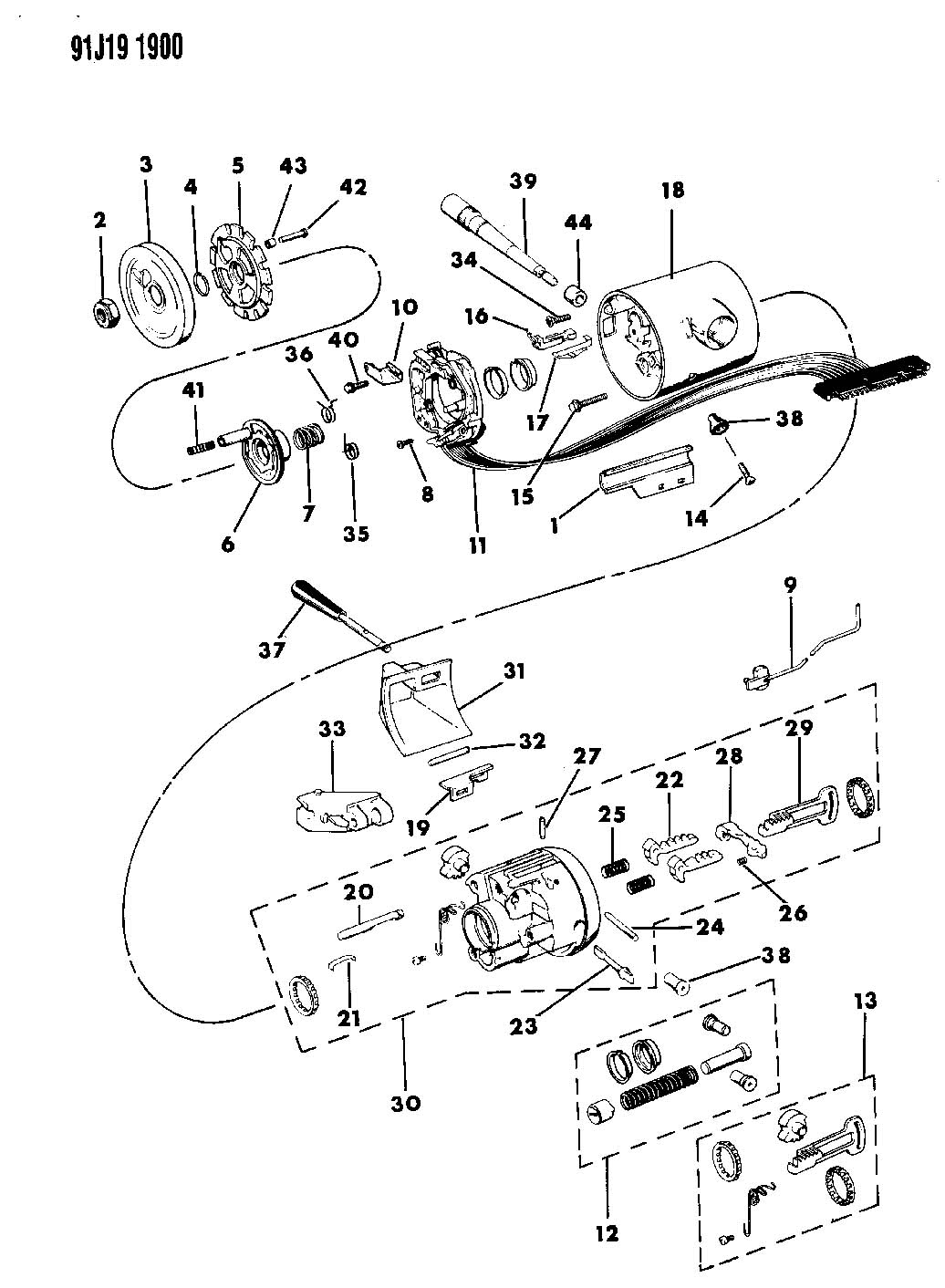jeep wrangler steering column diagram 2001 ford taurus parts comanche imageresizertool com