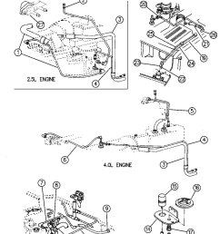 vacuum lines shot list of replacements jeep wrangler forum 1991 wrangler vacuum hose diagram [ 1046 x 1345 Pixel ]